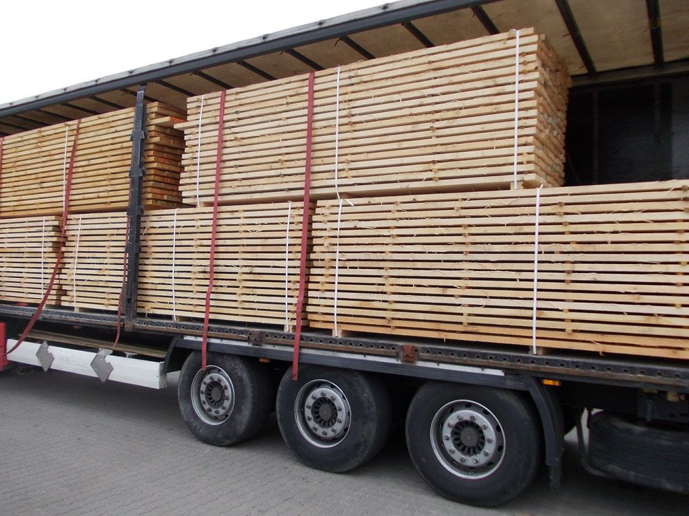 Usługowe suszenie drewna